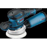 Запчасти на эксцентриковую шлифмашину Bosch GEX 125 150