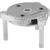 Съемник масляных фильтров трехлапый самозажимной 95-165 мм