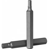 Бита 10мм,  Шестигранная 12 мм, 75 мм S2 материал