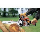 Бензопилы STIHL для заготовки дров и ухода за садовым участком